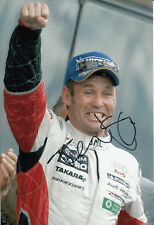 Tom Kristensen Hand Signed Audi Sport Japan Photo 2004 12x8 2.