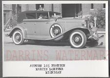 Vintage Car Photo 1933 Auburn 105 Phaeton Automobile at Auto Show 735193