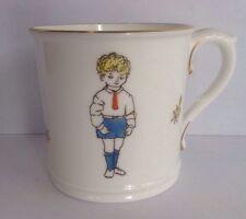 Royal Worcester Child Born on Sabbath Day Fair Wise Good Gay Birthday Mug Boy