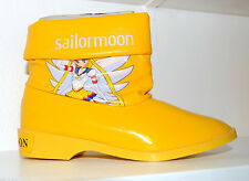 Eternal Sailor Moon T.K.TA.T vintage 92 Japan padded rain boots snow girls shoes