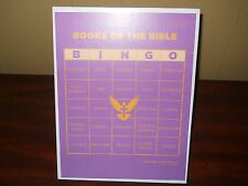 Books of the Bible Bingo game