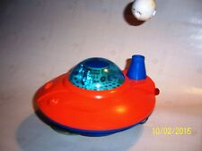 SpaceShip w/flying Astro.Box. Battery, Hongkong 70's Excellent, 3135 PlayArt