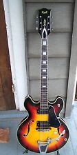 Vintage 1960s KENT 335 style guitar with Bigsby. Made in Japan