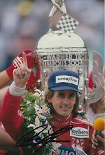 Arie Luyendyk Hand Signed 12x8 Photo Indy 500 Legend.