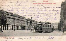 Torino Città - Tram, Piazza Statuto - Ed. Modiano - Viaggiata 1903 - TC084