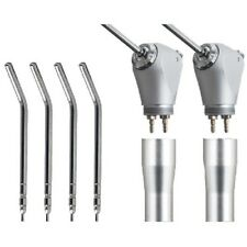 2PC Dental Air Water Spray Triple Syringe 3 Way Handpiece w/ Nozzles/Tips/Tubes