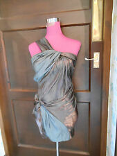 Stunning  All Saints Jelan Dress  Brown Size 12 Excellent Condition