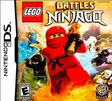 NINTENDO DS LEGO BATTLES NINJAGO BRAND NEW VIDEO GAME