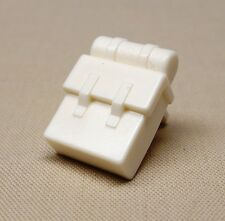 NEW Lego Minifig Backpack Non-Opening WHITE