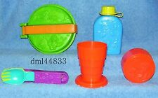 1990 McDonalds Camp McDonaldland Set - Lot of 4, Boys & Girls, 3+