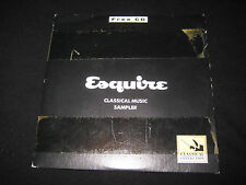 Esquire Classical Music Sampler (CD) Esquire Magazine