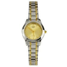 Casio LTP1275SG-9A Ladies Two Tone Stainless Steel Analog Casual Dress Watch NEW