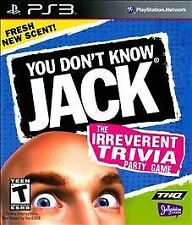 You Don't Know Jack GAME Sony PlayStation 3 PS PS3