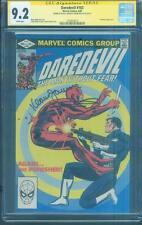 Daredevil 183 CGC 2X SS 9.2 vs Punisher Frank Miller Janson 1982 White Pgs