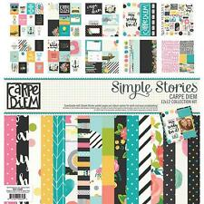 Simple Stories  Carpe Diem 12 x 12Collection Kit
