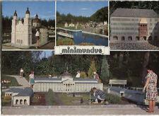 Ancienne carte postale-Minimundus-le petit monde au wörthersee