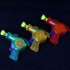 Shining Bubble Gun Shooter Blower Outdoor Kids Child Toys Color Random