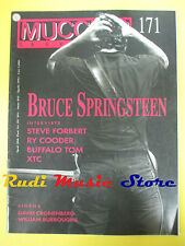 Rivista MUCCHIO SELVAGGIO 171/1992 Bruce Springsteen XTC Ry Cooder Forbert No cd