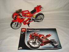 LEGO Technic Set # 8420 - Street Bike / Motorcycle - 100% Complete