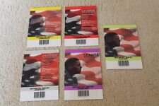 5 OBAMA TICKETS Credentials to 2008 Democratic Convention Invesco Field Denver