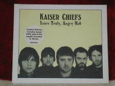 KAISER CHIEFS Yours Truly Angry Mob Limited edition CD + DVD