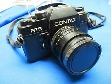 CONTAX RTS 35mm SLR FILM CAMERA WITH 50MM 1:1.9 LENS