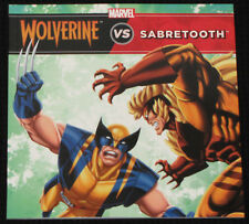 """Children's Book Marvel """"WOLVERINE vs SABRETOOTH"""" Boys *FREE POST* New To Clear"""