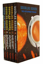 The Hitchhikers Guide To The Galaxy 5 Books Trilogy Set New