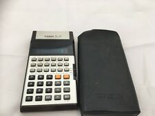AUTHENTIC RETRO 1970s CASIO SCIENTIFIC CALCULATOR FX-39 VINTAGE JAPAN + CASE