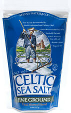 CELTIC SEA SALT ~ FINE GROUND ~ 3 BAGS