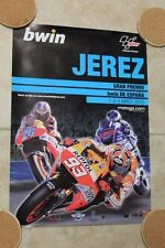 2015 Jerez Spain Moto GP Official Event Poster