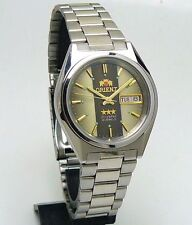 ORIENT 3 STAR Mechanical automatic Wrist Watch Unusual dial