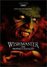 Wishmaster: The Prophecy Fulfilled by Mariam Bernstein, Cara Bisiak (R/DVD) NEW