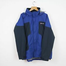Vintage BERGHAUS Blue Aquafoil Coat Jacket | Walking Hiking Waterproof | XL