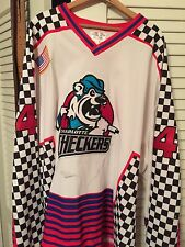 ECHL Charlotte Checkers Game Worn Jersey Size 58