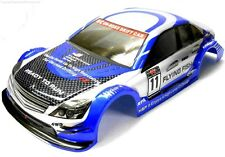 12381 1/10 Scale Drift Touring Car Body Cover Shell RC Blue Cut