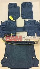 2014-2017 Jeep Wrangler JK Unlimited Slush Mat Cargo Liner 4-Door Mopar OEM