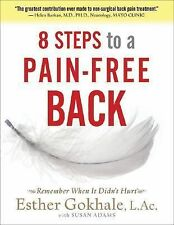 8 Steps to a Pain-Free Back : Natural Posture Solutions for Pain in the Back,...
