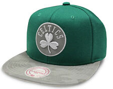 NBA Mitchell & Ness Boston Celtics Reflect Camo Snapback Cap - New - One size