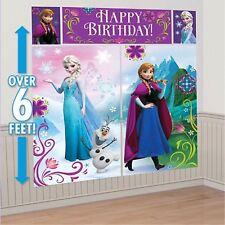 Disney Elsa Anna & Olaf Frozen Poseurs De Scène Fête Kit Décoration - 671416