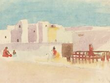 HERCULES BRABAZON BRITISH WALLS NORTH AFRICAN CITY ART PAINTING POSTER BB5688A