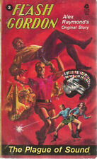 FLASH GORDON #2 The Plague of Sound Alex Raymond's original story (1974) Avon pb