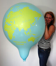 """1 x 35"""" CATTEX Riesenluftballon GLOBUS * GLOBE *WELTKUGEL* (90cm Durchmesser)"""