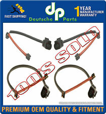 AUDI Q7 VW TOUAREG FRONT REAR BRAKE PAD WEAR SENSORS INDICATORS LEFT RIGHT SET 4