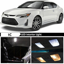 9x White Interior LED Lights Package Kit for 2005-2016 Scion tC + TOOL