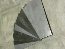 """6 pieces 18 gage 12"""" x 4""""+- stainless steel plate, metal sheet  welding tig mig"""