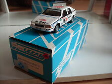 Hand Built Model Alezan Alfa Romeo 75 Turbo Monte Carlo 1990 in White on 1:43