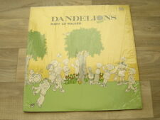 xian folk LP childrens psych acid *EX+* MARY LU WALKER Dandelions 1975 USA PRESS
