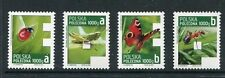 Poland 2013 Registration Stamp Set F5-8, F8, Butterfly, Insects