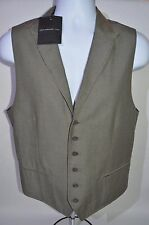 JOHN VARVATOS *  Star USA Man's Vest NEW Size 40 Large Retail $198